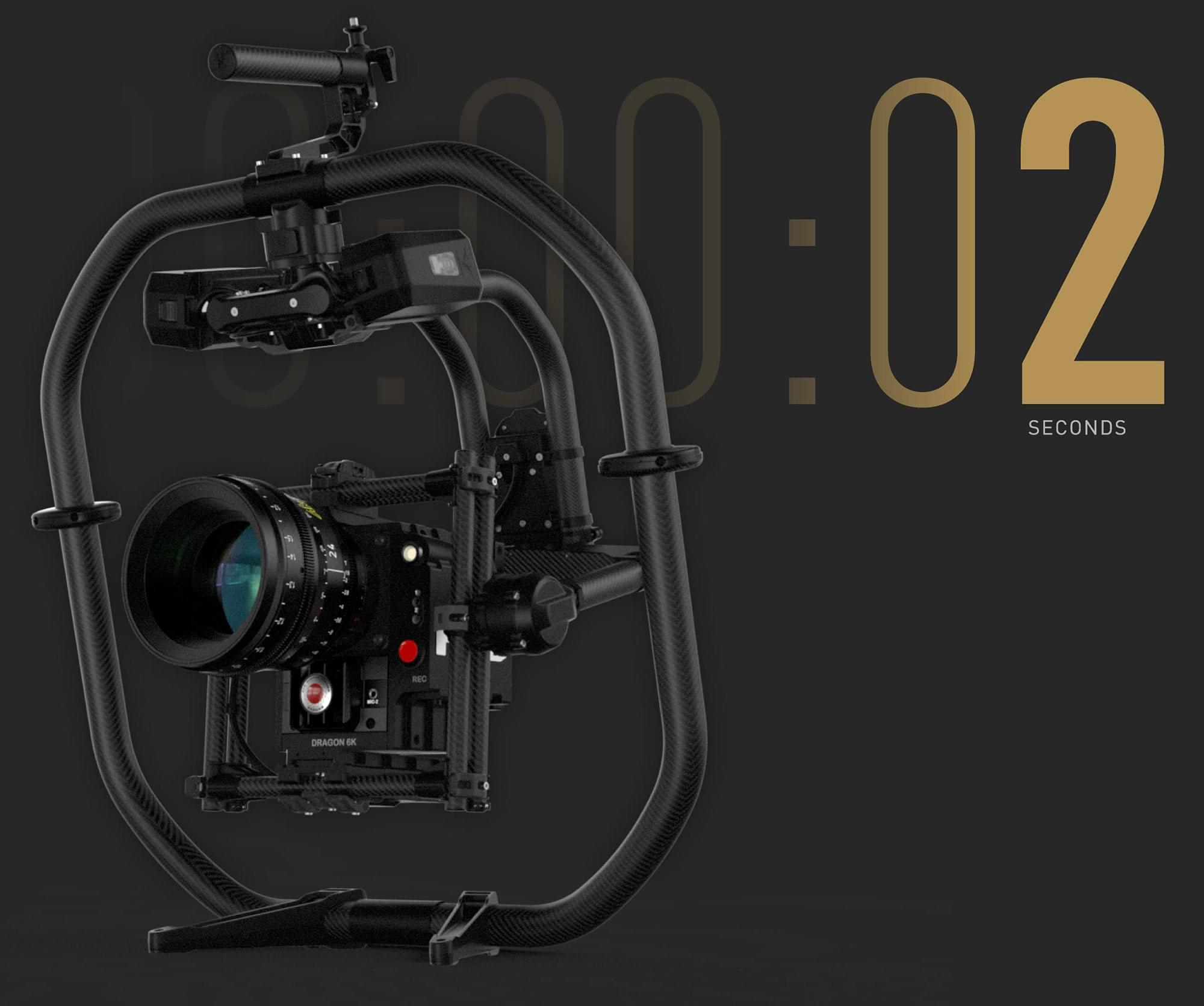 Mōvi Pro has a ~2 second boot time