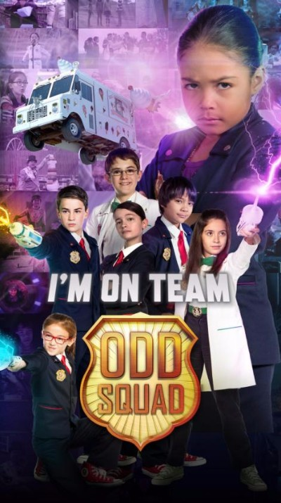 Im on Team Odd Squad Poster